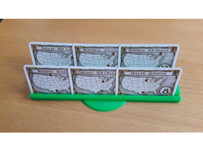 Ticket to ride objectif card holder