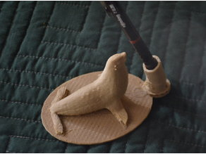 Sea Lion Pen Holder