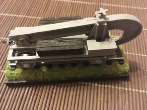 Schienenwolf (Railroad plough) 1/87 (HO)