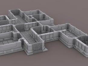 Modular space scenery for wargames - Escenario espacial modular para wargames