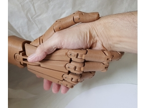 Articulated hand