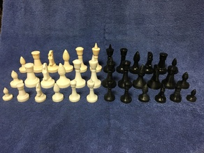 Star Trek - Ganine Classic Chess Set: King