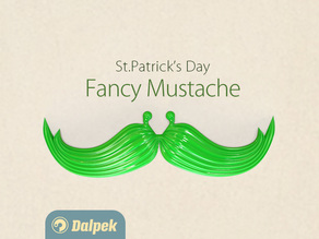 Fancy Mustache for St. Patrick's Day