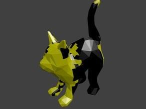 Customizable Brownian Noise Cat