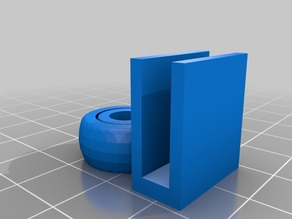 Ball joints filament guide for 5mm frame
