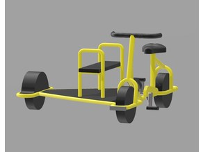 Rail Bike H0/HO scale (Draft version)