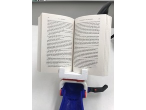 Book Holder- Prosthetic Hand Adapter