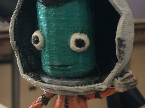 Kerbal Figurine (Waving Pose)