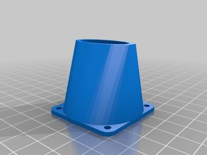 My Customized fan nozzle for 40mm fans