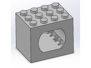 Lego Compatable RC Component Holders