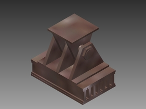 HO Scale Bridge Shoe (Pedestal)