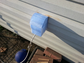 Rain Guard for outdoor outlet