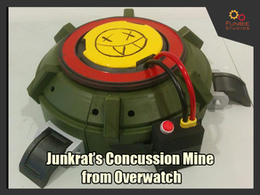 Junkrat's Concussion Mine from Overwatch