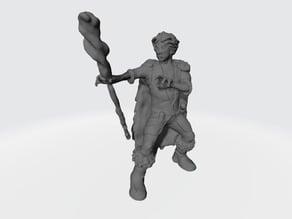 Halfling Druid - Halfling Spellcaster