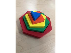 Stacking Geometric Shapes