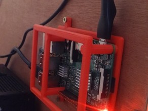 Raspberry Pi B+ Bumper with attachement