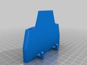print bed scraper BuildTak Spatula IKEA SKÅDIS peg board mount