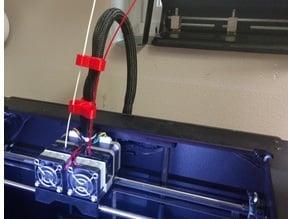Replicator 2x Double Filament Guide