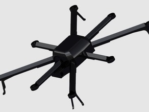 OCTO3D - First 3D printed octocopter