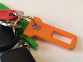 Buckle Plug Keychain