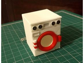 Doll House Washing Machine