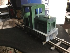 Diesel Loco for 16mm Scale Garden Railway