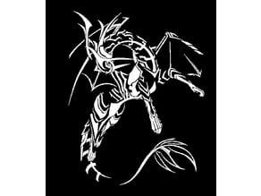 Corrin Dragon stencil FE
