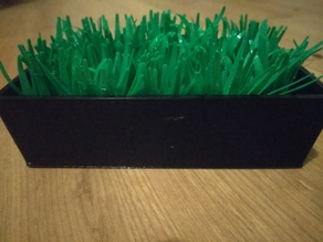Grass soap dish