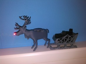 Ludolph the LED nosed reindeer