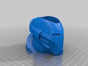 Iron Man Heart Breaker Mk17 Helmet Vase / Pencil Holder