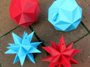 Great Stellated Dodecahedron as Ornament