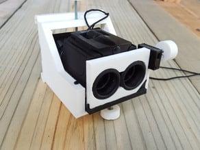 Binocular mount for Samsung Galaxy 6