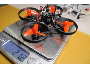 65mm Brushless Whoop Frame for 0603 motors.