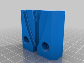 Build Plate Mount for Anycubic Kossel Plus 240mm Glass Plate