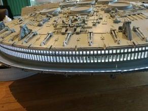 De Agostini Millennium Falcom Engine Vent replacement panel type 2