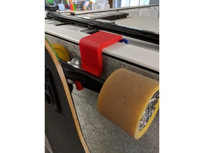 Cubicle Longboard Hook