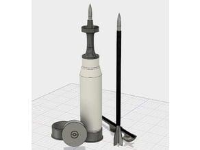 120mm M829A3 APFSDS-T