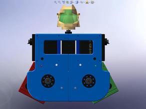 SwivelHips Kit for the HiTecRCD RoboNova-1 BiPedal Robot