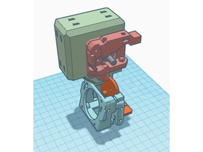 Ender 3 & CR10 Direct Drive Mount Remix for Bullseye