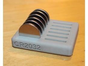 LR44 CR2032 CR2016, CRxxyy Parametric Battery holder