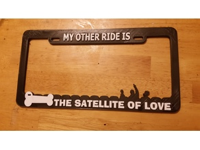 Mystery Science Theater 3000 License Plate Frame