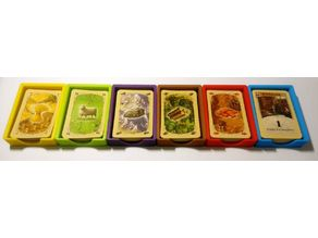 Settlers of Catan magnetic trays - small cards