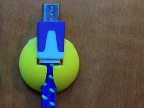 USB wire holder