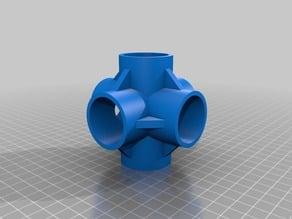 Embout d'assemblage de tube PVC 32mm