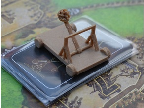 Stronghold - Catapult - Boardgame components