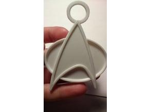 Star Trek Insignia Key Chain