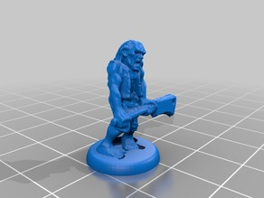 HeroQuest Zombie 18mm version