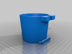 Cup Holder for Citroen C5 with screw mount