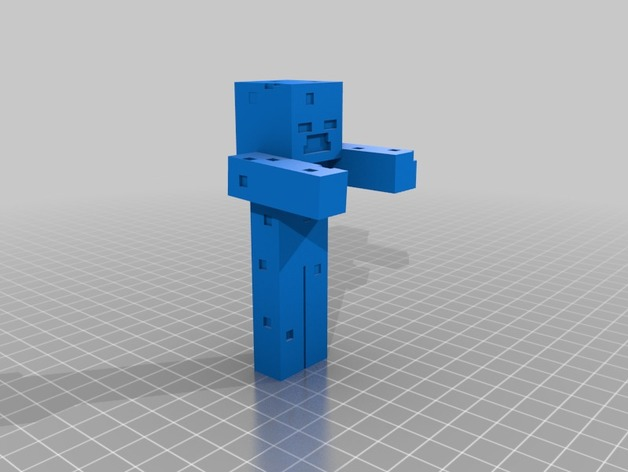 Minecraft Drowned by snazcat - Thingiverse