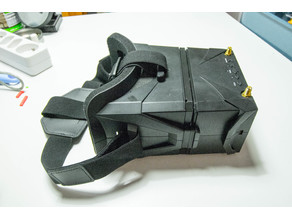 Support for a second lens in eachine VR011 FPV mask